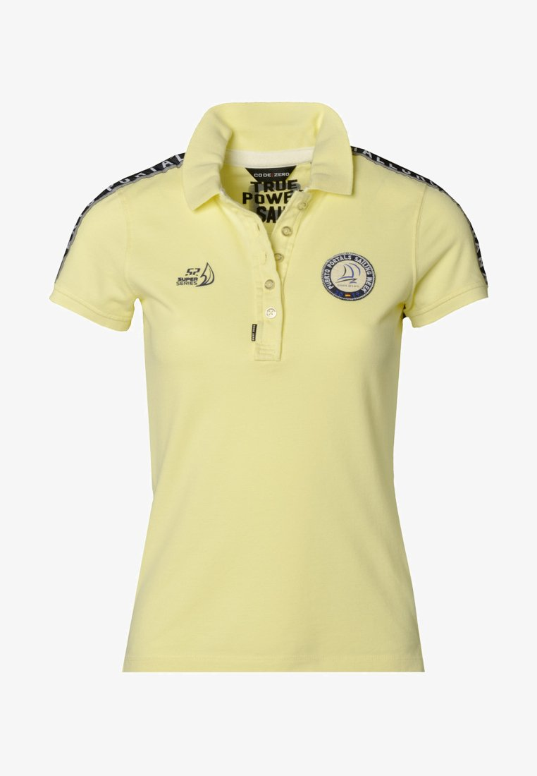 CODE | ZERO - PUERTO PORTALS  - Poloshirt - yellow
