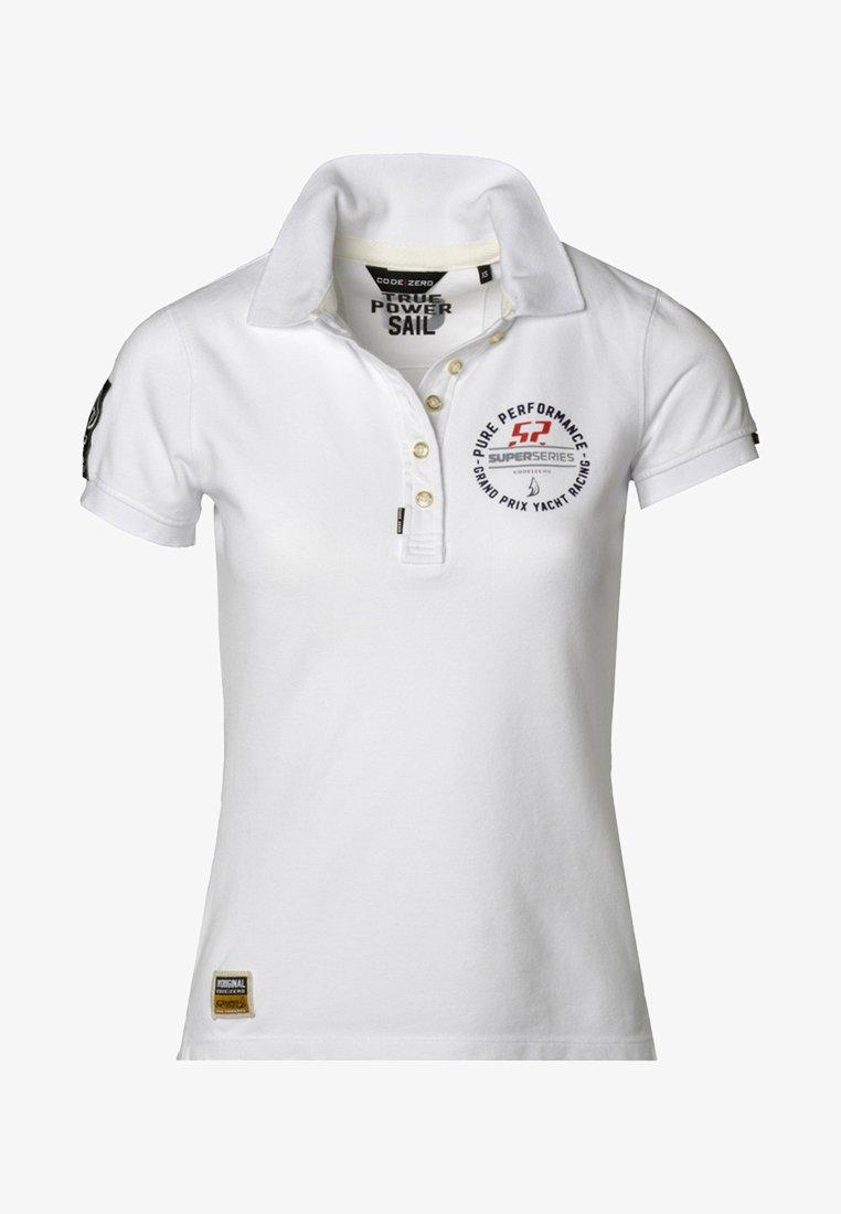 CODE | ZERO - Polo shirt - white