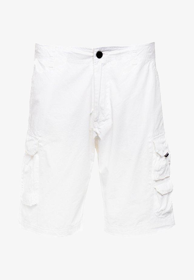 RUDDER - Shorts - snow white