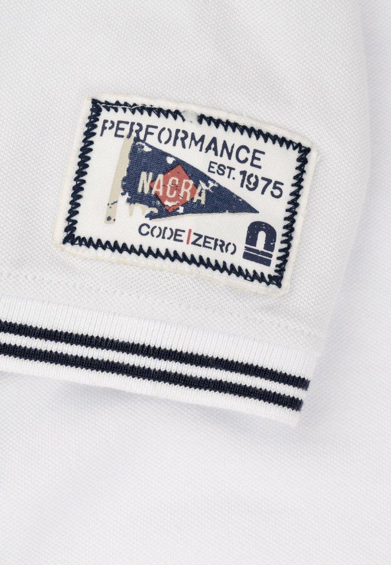 CODE   ZERO CATAMARAN - Polo shirt - white