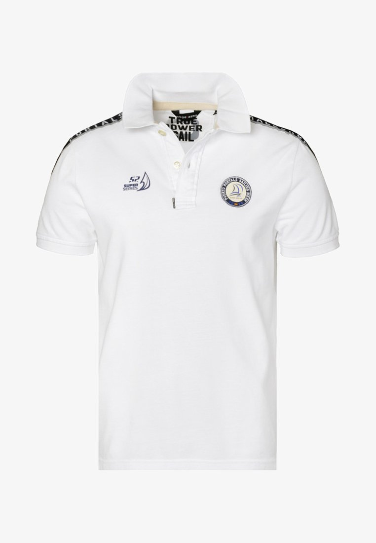 CODE | ZERO - PORTALS - Polo shirt - white