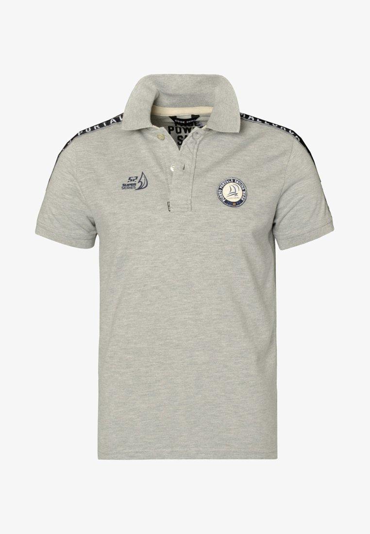 CODE | ZERO - PORTALS - Polo shirt - grey