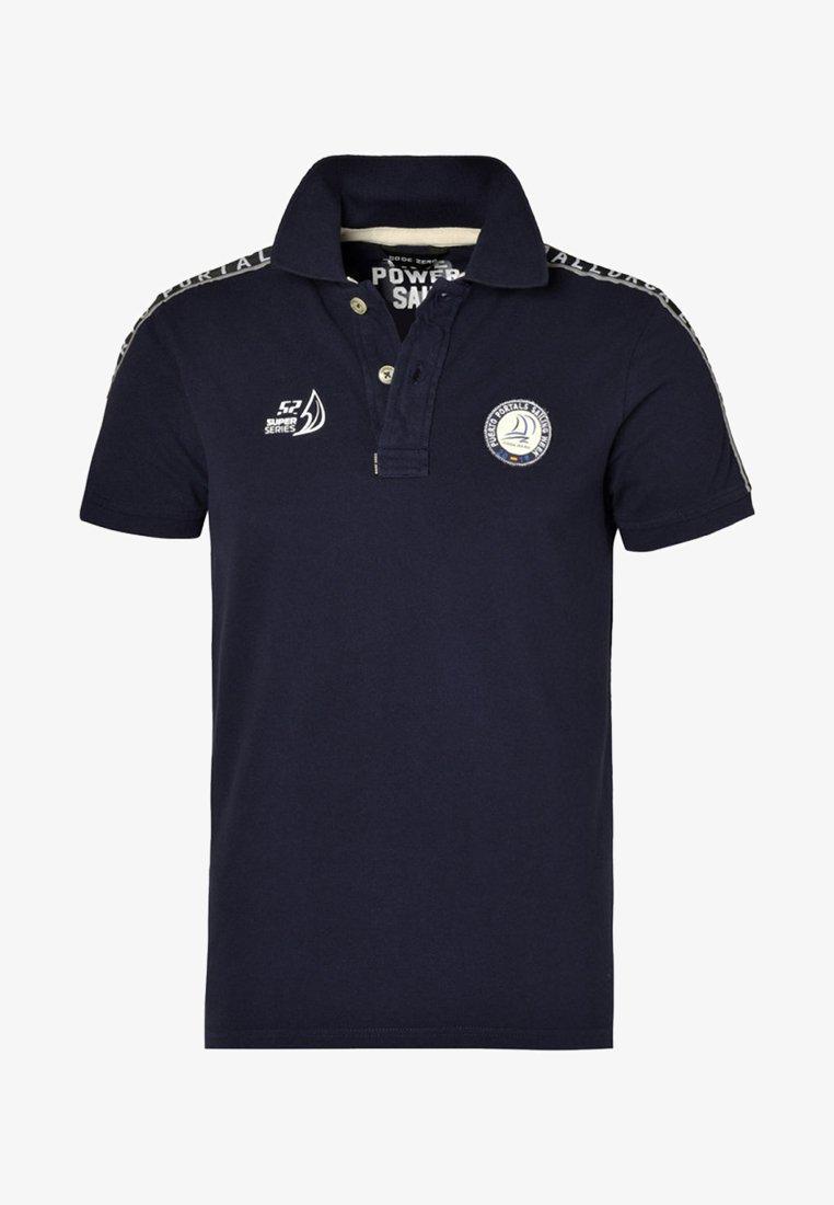 CODE | ZERO - PORTALS - Polo shirt - navy