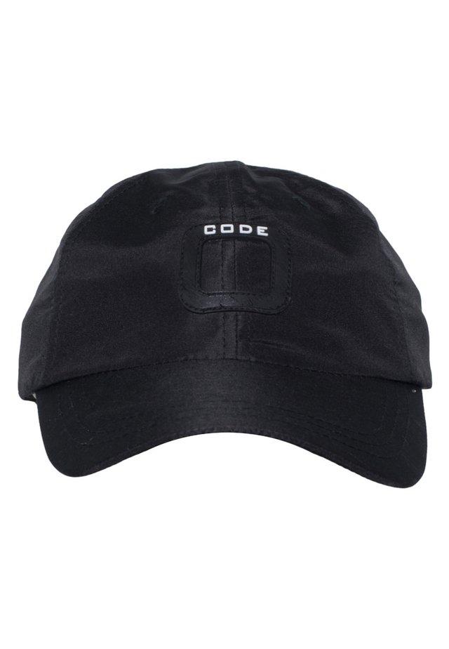 TRIM CAP MIT KLETTVERSCHLUSS - Cap - jet black