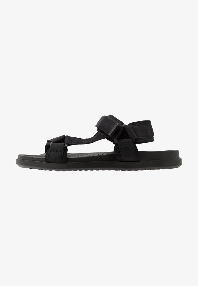 TAKASHI - Walking sandals - black