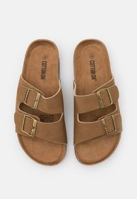 Cotton On - DOUBLE BUCKLE - Chaussons - brown - 3