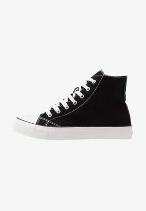 TYLER - Sneakers hoog - black/white