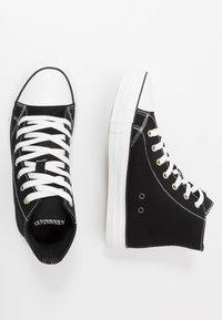 Cotton On - TYLER - Vysoké tenisky - black/white - 1
