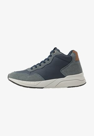 MARCEL - High-top trainers - navy/grey