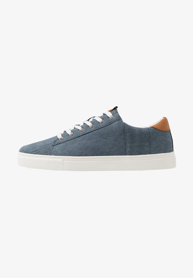 DICKSON CLASSIC - Baskets basses - washed navy/white
