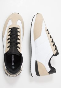Cotton On - RYAN RETRO TRAINER - Tenisky - offwhite/sand - 1