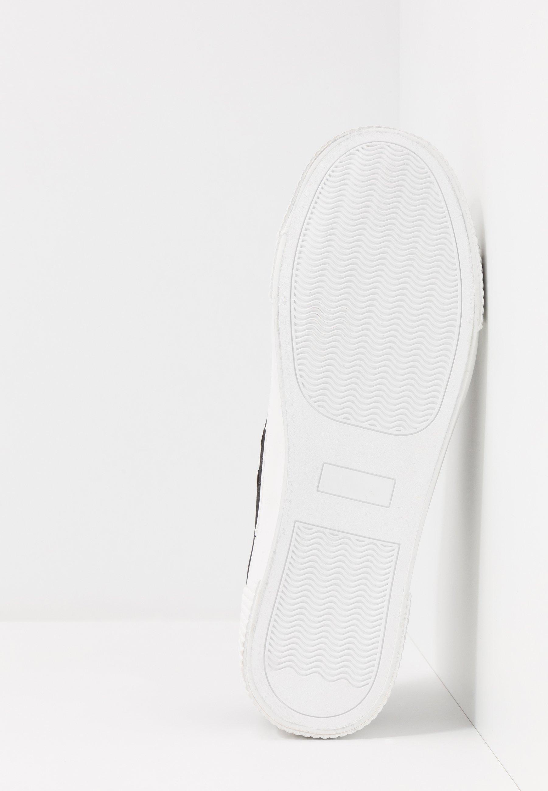 Cotton On LACCA RETRO SKATE SHOE - Sneakers - black/white