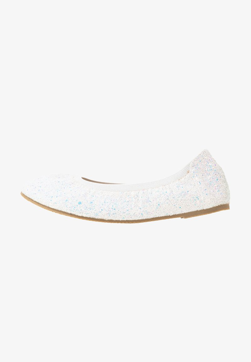 Cotton On - KIDS PRIMO - Ballerina's - white glitter