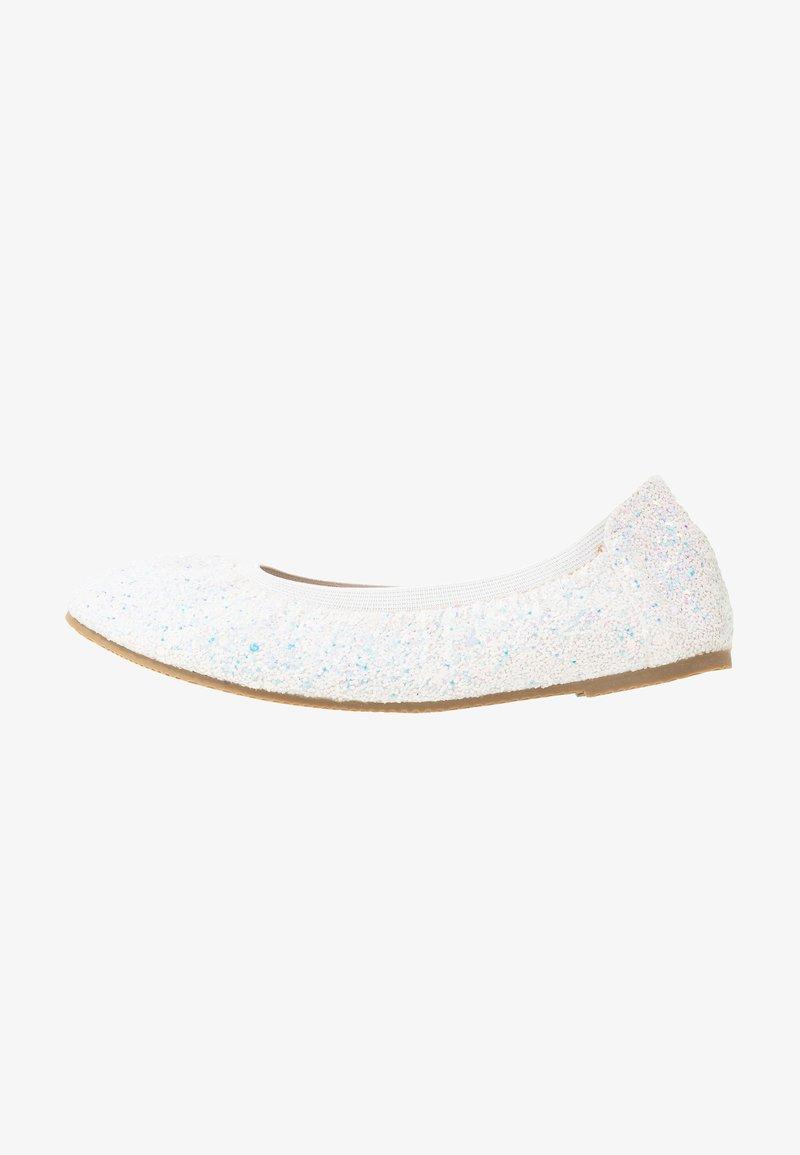 Cotton On - KIDS PRIMO - Ballet pumps - white glitter