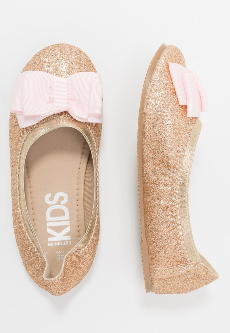 Cotton On - KIDS PRIMO - Ballerina's - gold shimmer