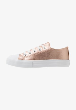 CLASSIC TRAINER LACE UP - Trainers - rose gold metallic