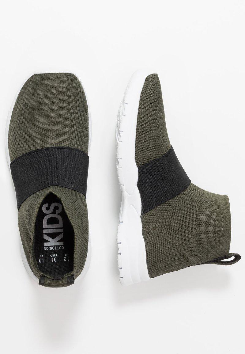Cotton On - TRAINER - Sneakersy wysokie - khaki