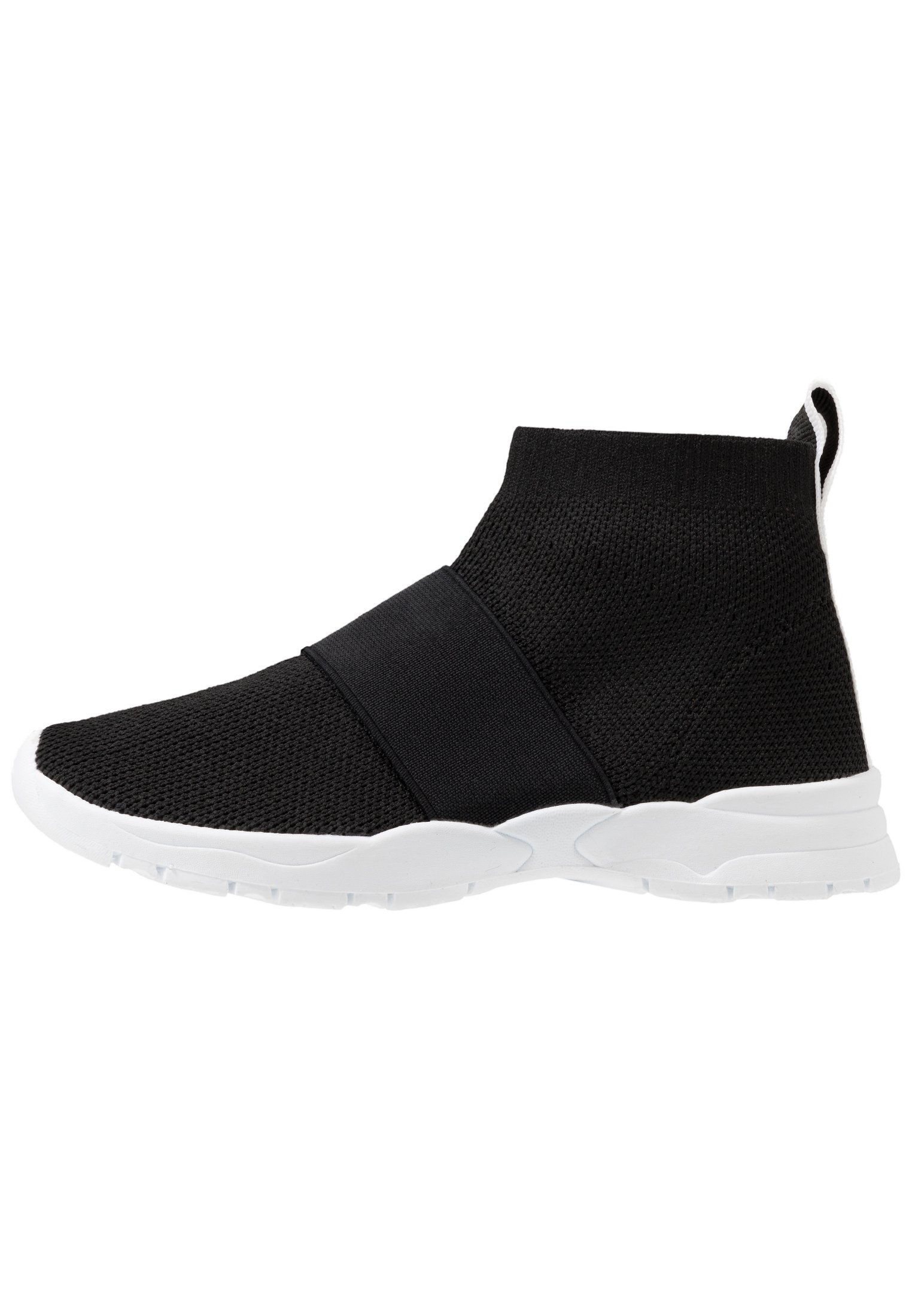 Cotton On TRAINER - Sneakersy wysokie - black