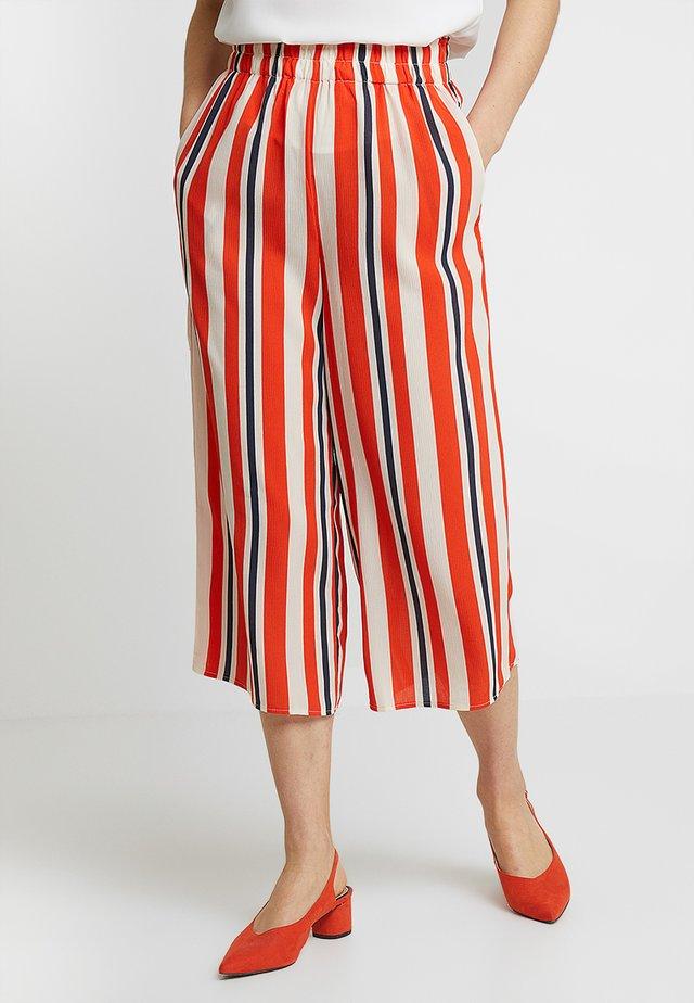 JESSICA CULOTTE - Trousers - multi-coloured
