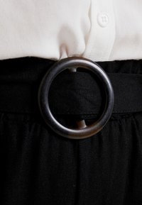 Cotton On - HIGH WAIST CULOTTE - Kalhoty - black - 6
