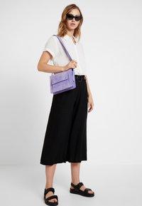 Cotton On - HIGH WAIST CULOTTE - Kalhoty - black - 2