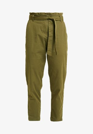 CASEY PAPERBAG - Chino - burnt olive