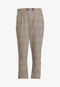 Cotton On - AVA TAPERED PANT - Spodnie materiałowe - tortoiseshell - 3