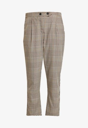 AVA TAPERED PANT - Spodnie materiałowe - tortoiseshell