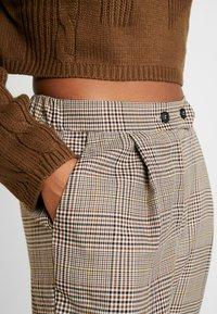 Cotton On - AVA TAPERED PANT - Spodnie materiałowe - tortoiseshell - 4