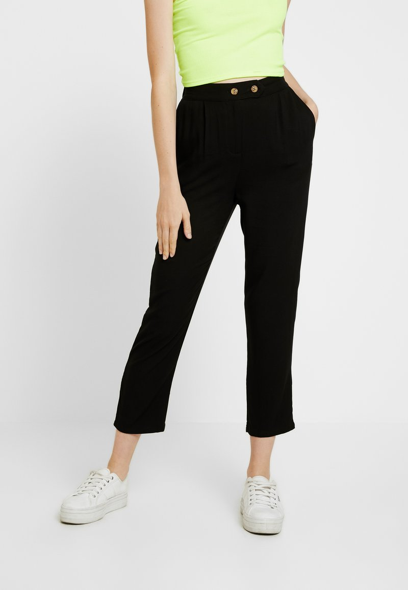 Cotton On - AVA TAPERED PANT - Broek - black