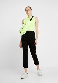 Cotton On - AVA TAPERED PANT - Broek - black - 1