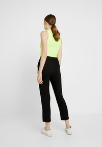 Cotton On - AVA TAPERED PANT - Broek - black - 2