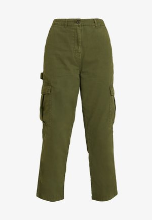 BREYA UTILITY CROP PANT - Trousers - winter moss