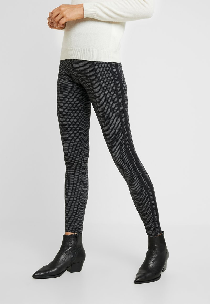 Cotton On - CHELSEA HIGH WAISTED - Legging - emily gingham check