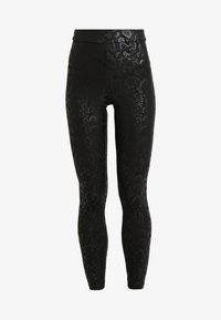 Cotton On - CHELSEA HIGH WAISTED - Leggings - black - 4