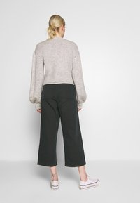 Cotton On - TAYLOR CROP UTILITY - Bukse - washed black - 2