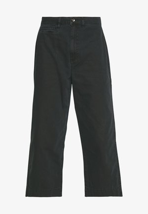 TAYLOR CROP UTILITY - Trousers - washed black