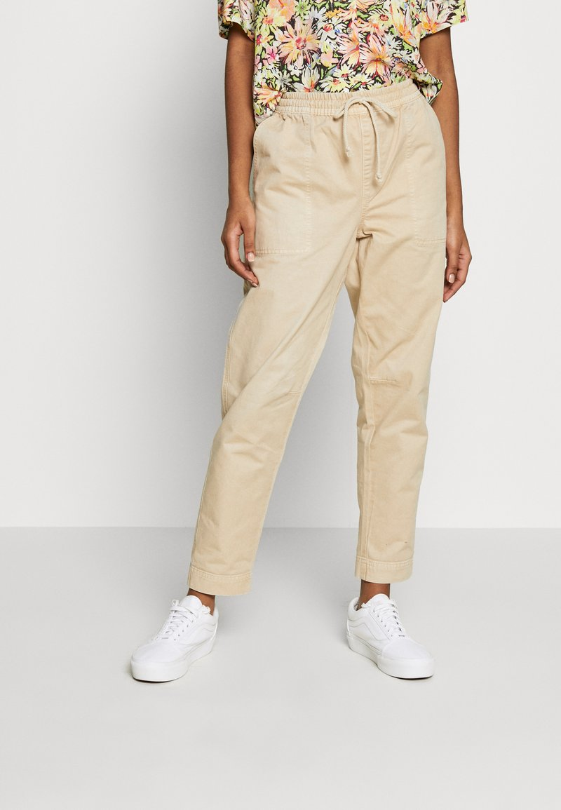 Cotton On - EVIE  - Spodnie materiałowe - oats