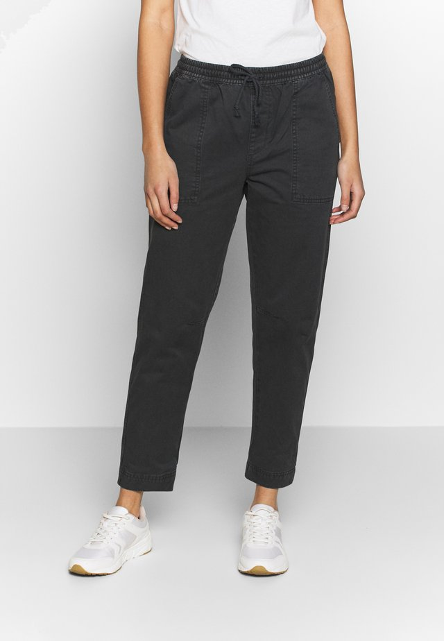 EVIE  - Trousers - washed black
