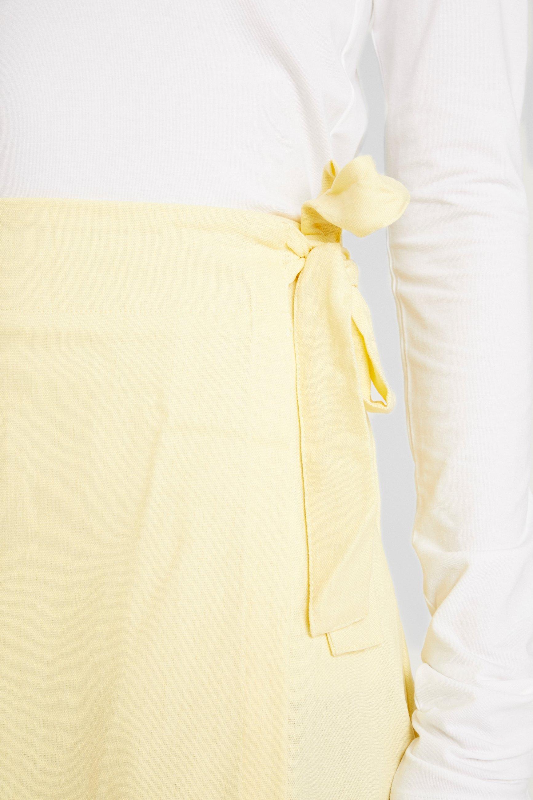 Cotton On WOVEN HEIDI WRAP SKIRT - Gonna a campana popcorn