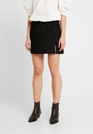 ANNABELLE MINI SKIRT - Minirok - black