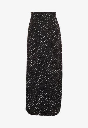 SLIP SKIRT - A-line skirt - daisy black