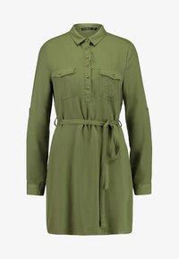 Cotton On - TAMMY LONG SLEEVE DRESS - Blusenkleid - khaki - 4