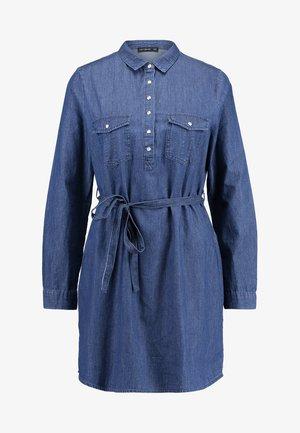 TAMMY LONG SLEEVE DRESS - Abito a camicia - dark denim