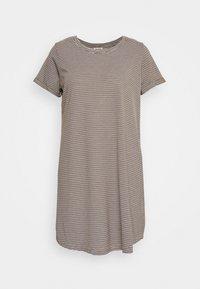 Cotton On - TINA DRESS - Jersey dress - white/dark olive - 0