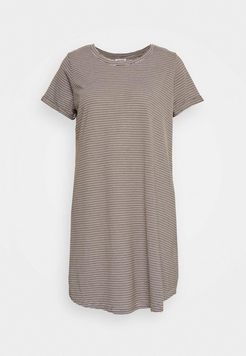 Cotton On - TINA DRESS - Jersey dress - white/dark olive