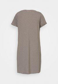 Cotton On - TINA DRESS - Jersey dress - white/dark olive - 1