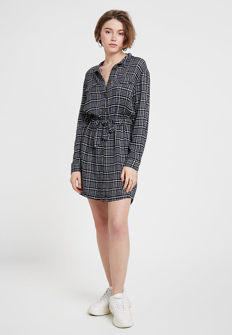 Cotton On - ELLE DRESS - Blusenkleid - nyla navy