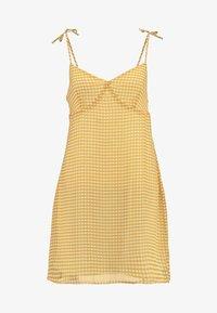 Cotton On - VALENTINE MINI DRESS - Robe d'été - dark yellow - 4