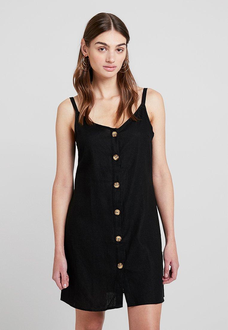 Cotton On - MARGOT SLIP DRESS - Shirt dress - black